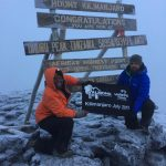 Mark from Almond Maintenance climbed Mount Kilimanjaro!