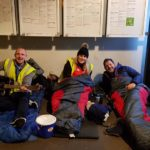 Join us for our next sponsored sleepout
