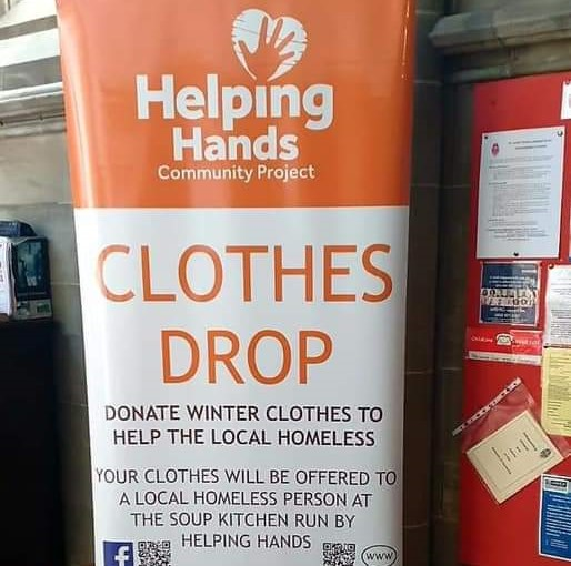 Helping Hands Community Project coat drop is back for Winter